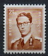 PIA - BELGIO - 1957 : Francobollo Di Uso Corrente - Re Baldovino I°  - (Yv 1028b) - Belgium