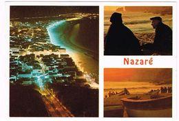 V2122 Nazarè - Noite Noche Notte Nuit Night Nacht / Viaggiata - Leiria