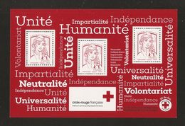 2017 - Bloc Feuillet BF 140  CROIX-ROUGE NEUF** LUXE MNH - Neufs
