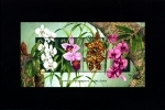 AUSTRALIA - 1998 ORCHIDS  AUSTRALIA-SINGAPORE JOINT ISSUE  MS  MINT NH - Blocchi & Foglietti