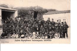 CPA 17 SAINTES    JOYEUX BIGOTPHONES SAINTONGEAIS - Saintes