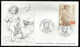 JEAN GOUJON . 13 FEVRIER 1999 . PARIS . - 1990-1999