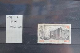 POSTE  AERIENNE   N°  6  **    ROUSSEURS  AU  DOS - Reunion Island (1852-1975)