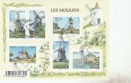 FRANCE 2010 BLOC LES MOULINS - F4485 - F 4485 - OBLITERE       -                              TDA247 - Sheetlets
