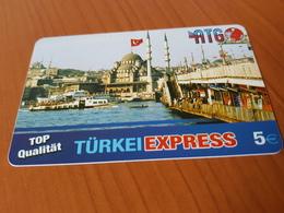 ATG Türkei Express  - Moschee 5 €   - Little Printed   -   Used Condition - Deutschland