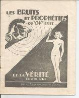"""Livret Propagande PRO VICHY - Collaboration - """"Les Bruits Et Prophéties Qu'on émet..."""" - 1939-45"""