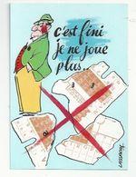 ILLUSTRATEUR :LASSALVY - HUMOUR TIERCÉ - ENCORE PERDU...! - C'EST FINI, JE NE JOUE PLUS...MENTEUR...!! - Lassalvy
