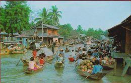 Wad Sai Floating Market Dhoburi Thailand - Thaïlande
