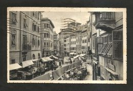 BOLZANO - Piazza Erbe Col Mercato( Spedita 1940 ) ANIMATA - Bolzano