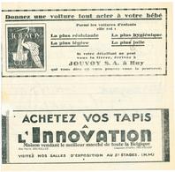 158/26 -Télégramme Publicitaire NEW YORK Via BELRADIO Vers LONGEVAL ACREN - Cachet Télégraphique LESSINES 1931 - Télégraphes