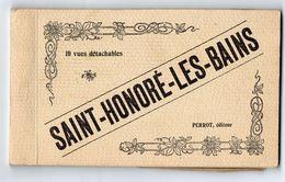 SAINT  HONORE Les BAINS   -  Carnet De 10 Cartes - Saint-Honoré-les-Bains