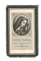 977. JOANNE-ALDEGONDIS  MOERS - Jonge Dochter - °VEULEN 1837 En Aldaar + 1910 - Devotion Images