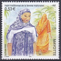 Mayotte 2005 Brauchtum Folklore Traditionen Trachten Costumes Kleidung Cloths, Mi. 171 ** - Mayotte (1892-2011)
