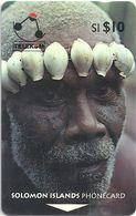 Solomon - SOL-05A Man From Turarana 10$ 02SIC (B), Used - Solomon Islands