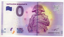 2017-4B BILLET TOURISTIQUE 0 EURO SOUVENIR N°UEAV011318 NAPOLEON BONAPARTE Verso TOUR BELEM - EURO