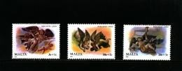 MALTA - 1989  CHRISTMAS  SET  MINT NH - Malta