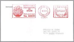 AYUNTAMIENTO DE IRUN - Escudo - Coat Of Arms. Irun, Guipuzcoa, 1991 - Enveloppes