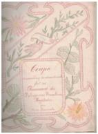 RARE          CAHIER DE COUTURE   DATE DE 1900 - Livres, BD, Revues