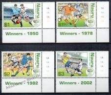 Nauru 2006 Yvert 583-86, Football, German World Cup - MNH - Nauru