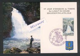 25 - Villers Le Lac - Saut Du Doubs - Premier Jour Du Timbre 8 Septembre 1976 - France