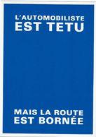 CPM -NOT POU MOT - Jean Louis GIOJA Concept - Humour