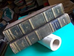 1834 VOYAGE PITTORESQUE AUTOUR DU MONDE DUMONT D'URVILLE TENRE PARIS 2 TOMES Cartes Illustrations Beaux Exemplaires - 1801-1900