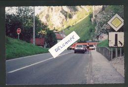 25 - Le Frambourg - TGV Franchissant Le PN 29 Sur La RN 57 Ligne Frasne-Les Verrières En 1993 - France