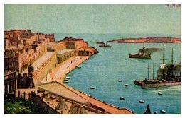 Malta View Of Harbor - Malta