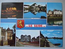 LE LUDE / JOLIE CARTE PHOTO MULTIVUES / 1982 - France