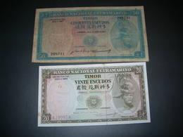 Timor 20 - 50 Escudos - Timor
