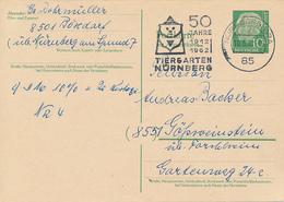 NÜRNBERG - 1962 ,  50 JAHRE TIERGARTEN NÜRNBERG - BRD