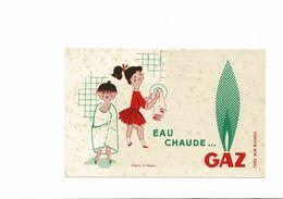BUVARD  EAU CHAUDE GAZ - Electricity & Gas