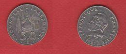 Nouvelle Calédonie   --  50 Francs 1983  - Km # 13 -- état TB+ - New Caledonia