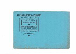 BUVARD  G MERLAUD BERGER JOUANNET - Buvards, Protège-cahiers Illustrés