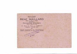 BUVARD   RECHERCHES D HERITIERS RENE MAILLARD - Papel Secante