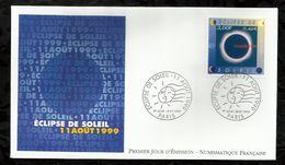 ECLIPSE DE SOLEIL . 08 JUILLET 1999  . PARIS . - 1990-1999