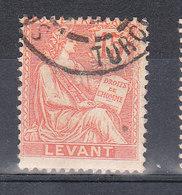 LEVANT YT 15  Oblitéré TURQUIE - Usati