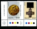 MALTA - 2012  DEFINITIVE  HISTORY OF MALTA  SET  MINT NH - Malta