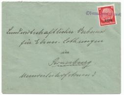 H86 - OBERMODERN Unterels - 1940 - Provisoire Caoutchouc Hindenburg Surchargé Elsass - Gummistempel - - Alsace-Lorraine