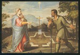 Italia. Cellatica (BS). *Santuario Madonna Della Stella* Nueva. - Pinturas, Vidrieras Y Estatuas