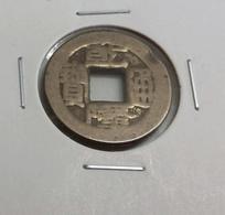 Ancient China Bronze Coin Qing Ch'ng Dynasty Qian Long Washed Cleaned #O3 - China