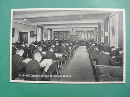 Study Hall , Capuchin College , Rochestown , Co. Cork. - Ireland