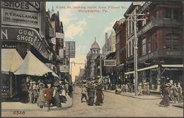 Eight Street, Philadelphia, Pennsylvania, C.1910s - Post Card Distributing Co Postcard - Philadelphia