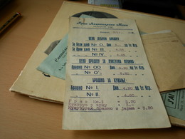 Beograd Prvi Akcionarski Mlin  1928 - Facturas & Documentos Mercantiles