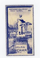 """CHOCOLAT SUCHARD - VUES DE FRANCE - 562 - PARTHENAY, STATUE """"LE PAIN"""" (DEUX SÈVRES) - Suchard"""