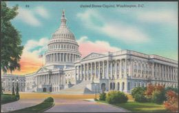 United States Capitol, Washington DC, C.1940s - Washington News Co Postcard - Washington DC