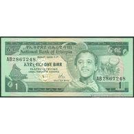 TWN - ETHIOPIA 30a - 1 Birr 1976 Prefix AB UNC - Etiopia