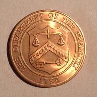 TOKEN JETON GETTONE U.S.A. DEPARTMENT OF THE TREASURY DENVER COLORADO - Monétaires/De Nécessité