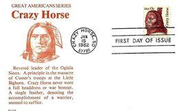 1982 - CARTON (CARDBOARD) - CRAZY HORSE - Vereinigte Staaten