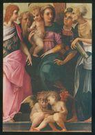 Italia. Firenze. *Galleria Uffizi. Rosso Fiorentino. Madonna In Trono E Santi* Nueva. - Pinturas, Vidrieras Y Estatuas